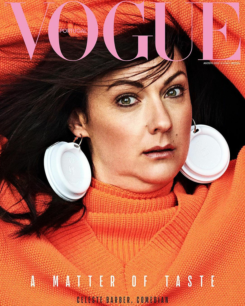 Best Vogue Cover in History? Comedian Made Irina Shayk Impression and Became Magazine Star + 30 Hilarious Photos, фото № 2