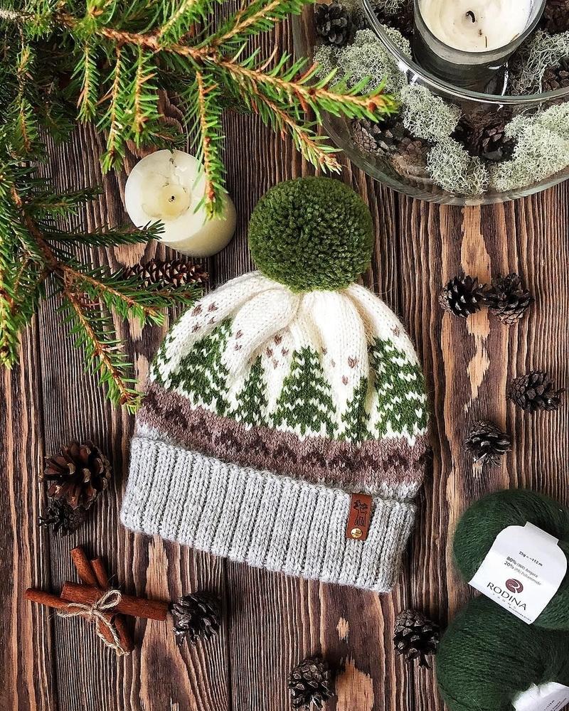 К зиме готовы! 50 идей вещей для вязания спицами, фото № 8