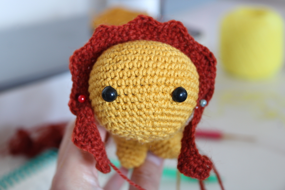 Crocheting a Cute Lion, фото № 7