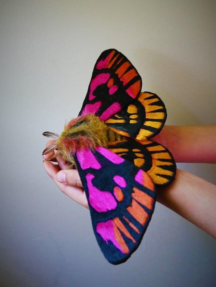 Удивительные бабочки мастерицы Okita Yumi – Ярмарка Мастеров<br />