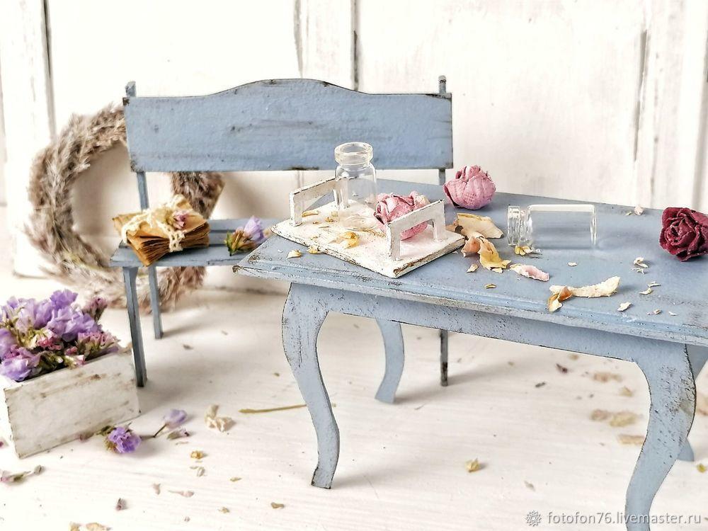 Делаем мебель для куклы из картона. Декор для фотографий, фото № 5