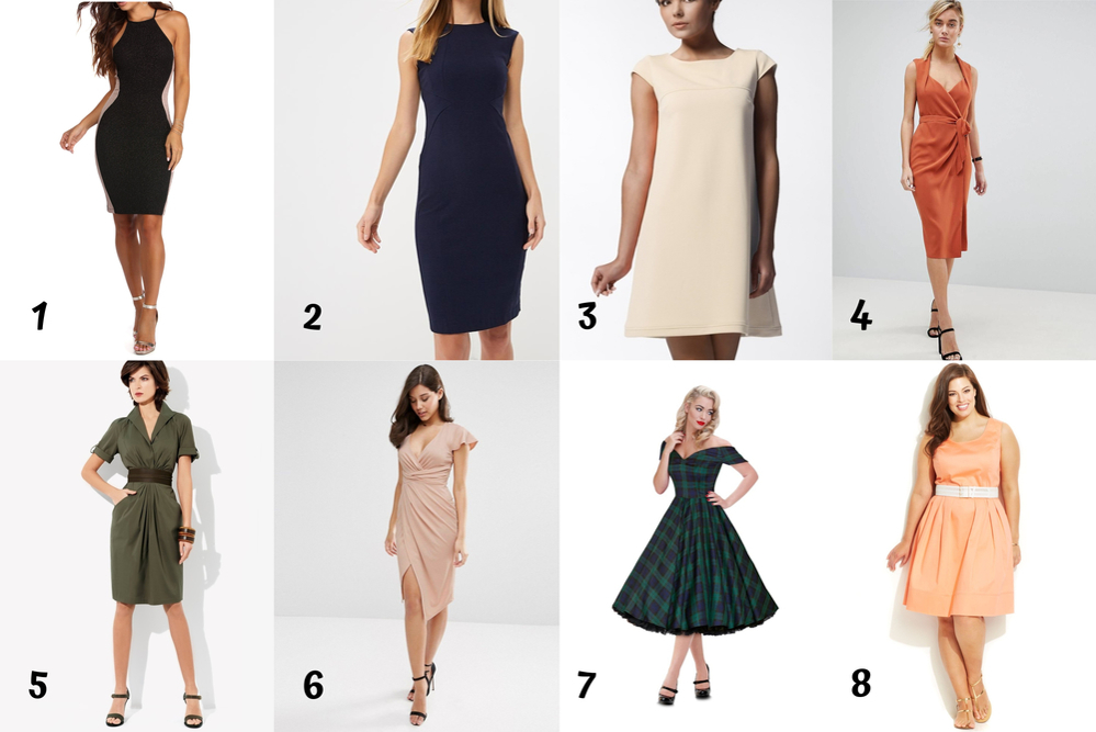 Выбор платья, часть 1. Подбор фасона по фигуре, фото № 2