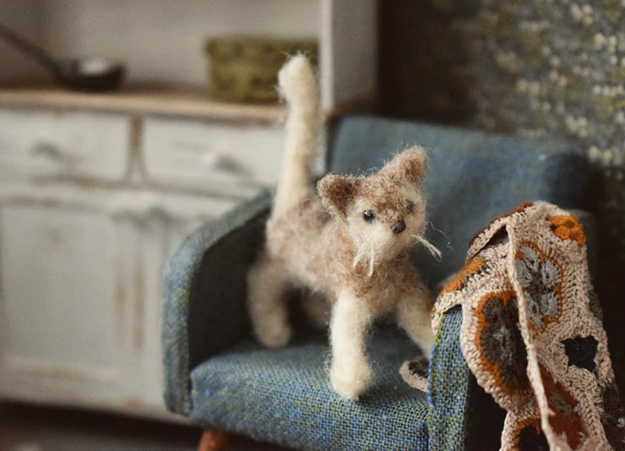 Финская художница создает дома мечты... в миниатюре, фото № 6