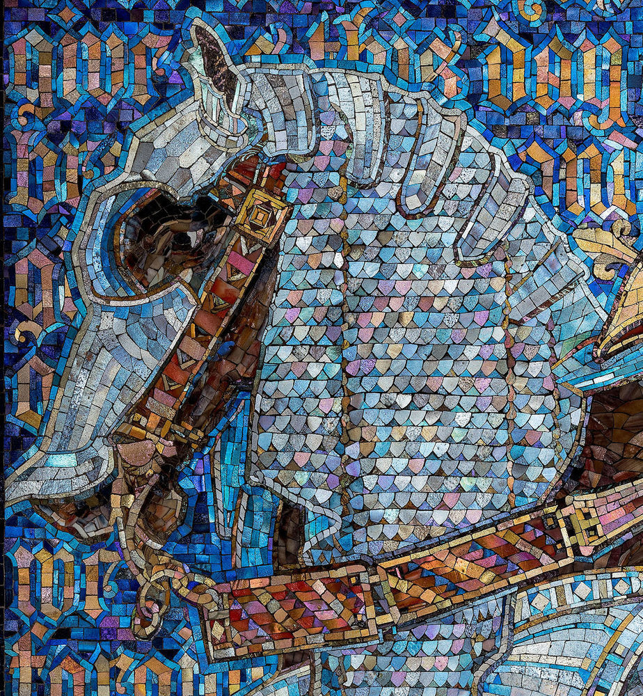 tiffany mosaic, the neustadt collection of tiffany glass
