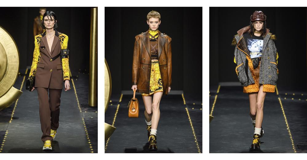 Небрежность как тренд: осенне-зимняя коллекция Versace 2019/2020