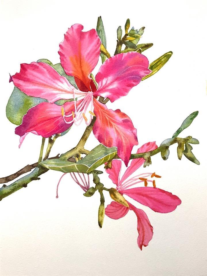 Watercolour Virtuoso: Kitipong Ti, фото № 17