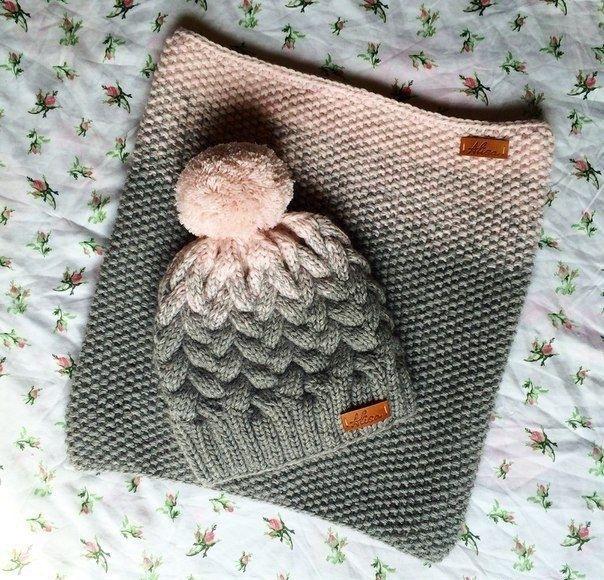 К зиме готовы! 50 идей вещей для вязания спицами, фото № 13