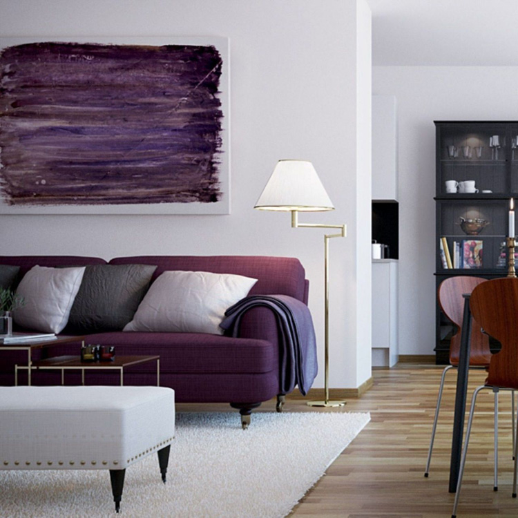 Сливовый цвет: 15 стильных идей для вашего интерьера, фото № 25