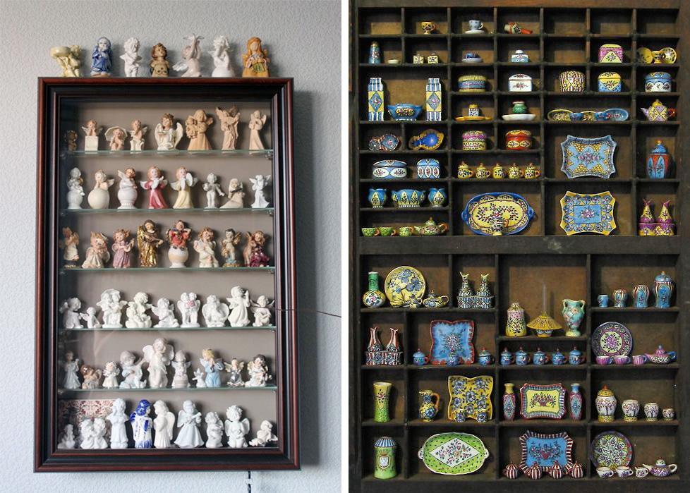 Коллекционируем красиво: 40+ впечатляющих полок для хранения коллекций, фото № 30