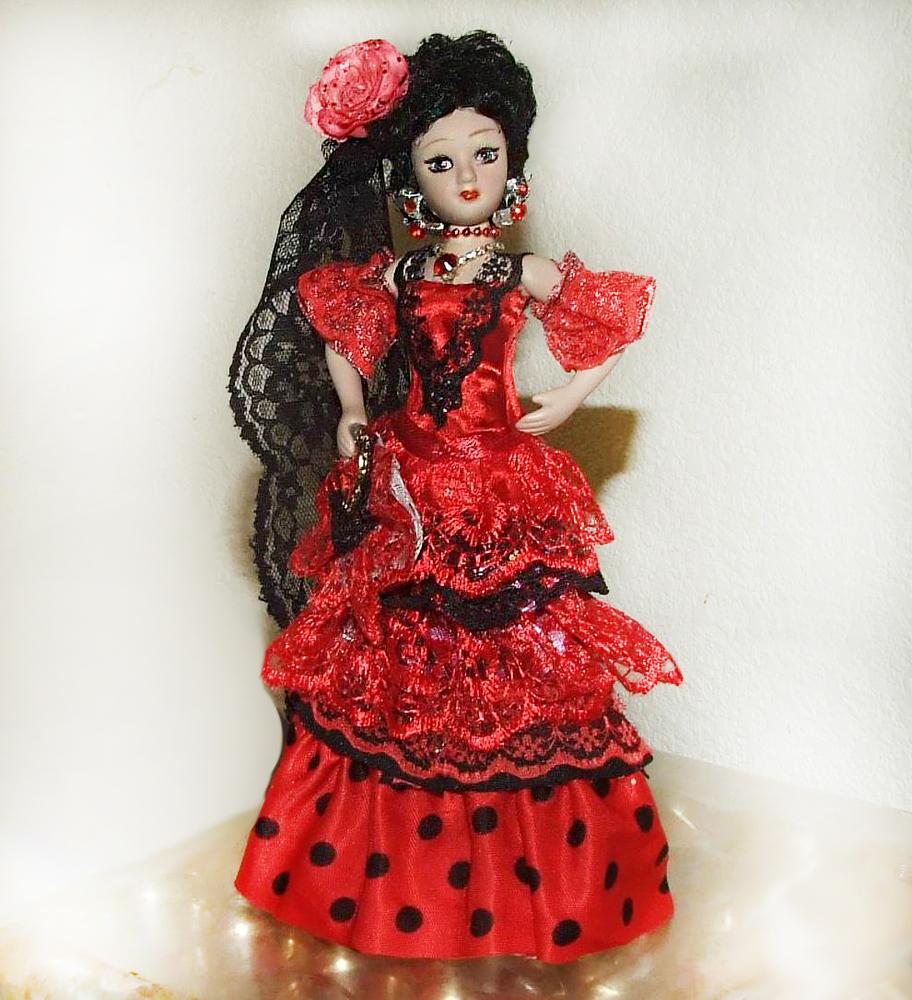 Мои куклы в народных костюмах за прошлый год, фото № 11