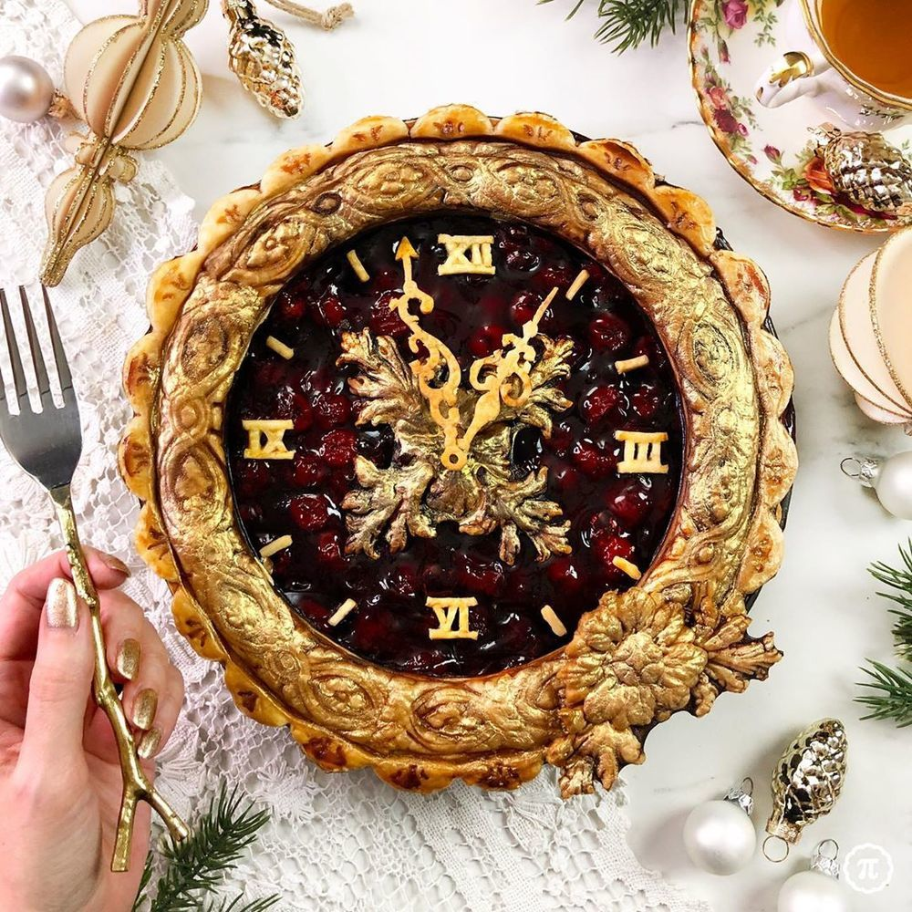 Self-Taught Cook Named Jessica Bakes Christmas Pies — And They Are Gorgeous!, фото № 1