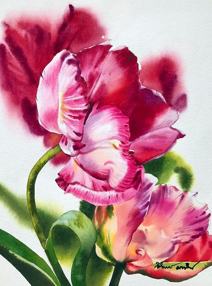 Watercolour Virtuoso: Kitipong Ti, фото № 7