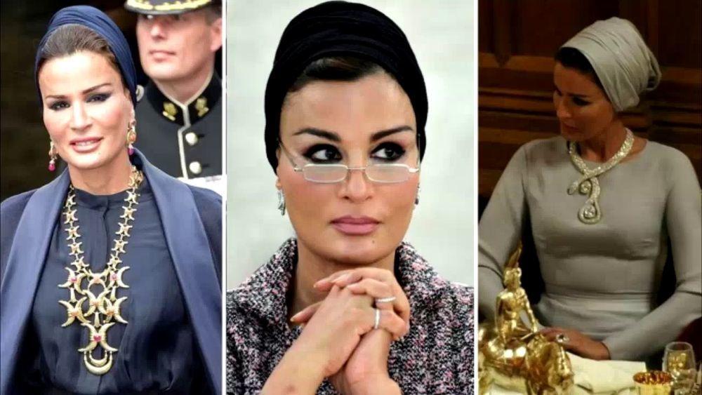Самая модная женщина Востока. Так называют Шейху Мозу. Ее наряды и утонченный стиль, фото № 7