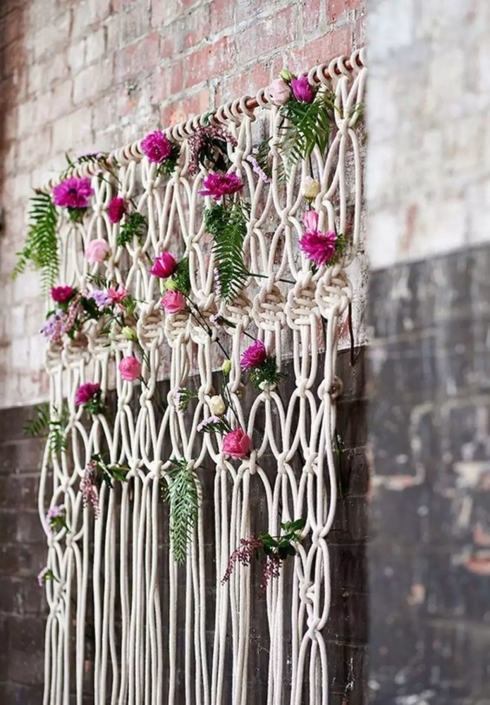 Tangled Story: 35 Ideas of Macrame in Interior, фото № 33