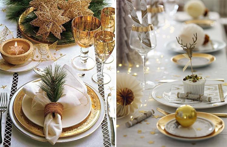 Золотой новогодний декор: 15 классных идей, фото № 34