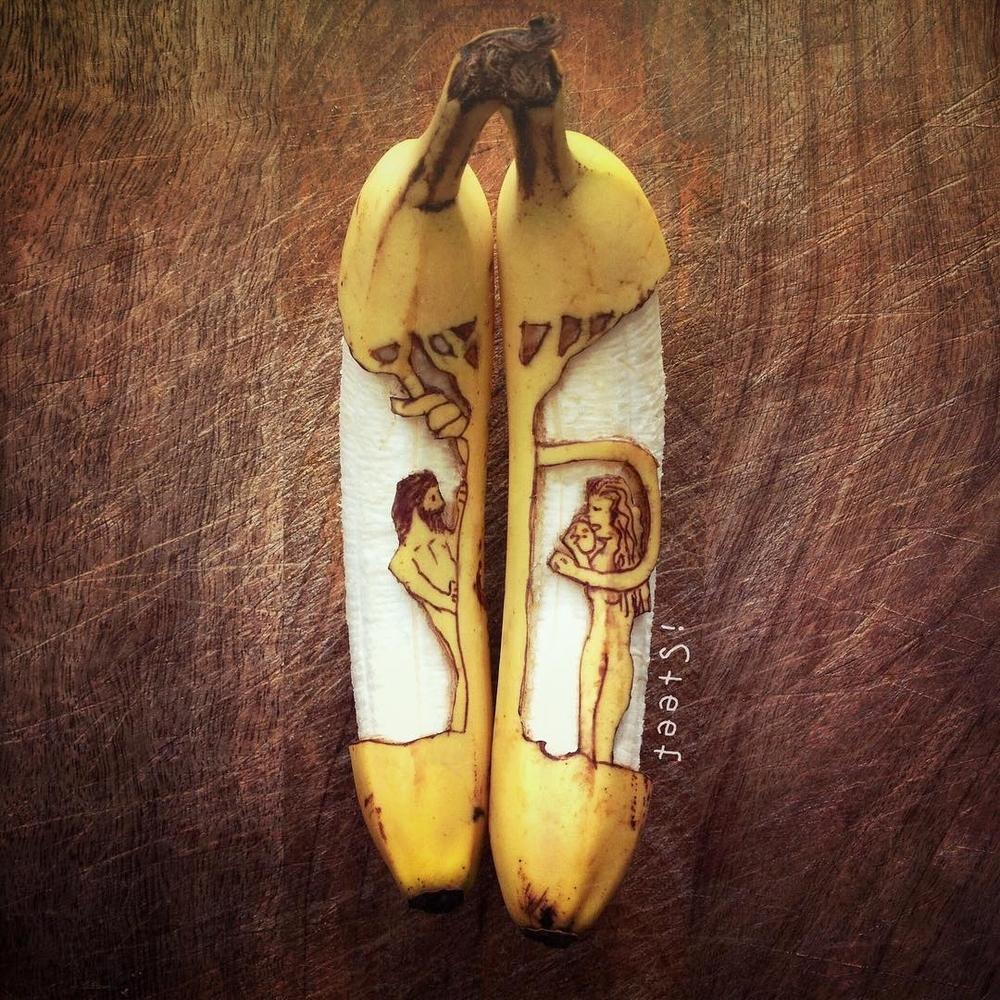 Повелитель бананов Стивен Брюче меняет наше привычное представление об этом фрукте в своём творчестве!, фото № 24