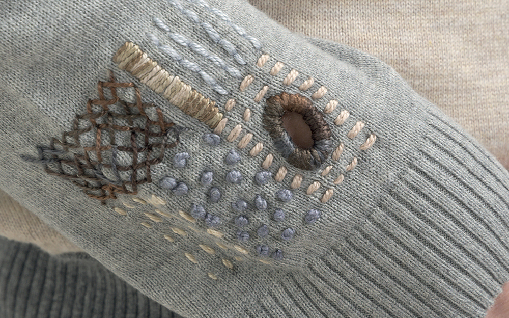 Декоративные заплатки на локтях одежды: 11 креативных идей, фото № 5