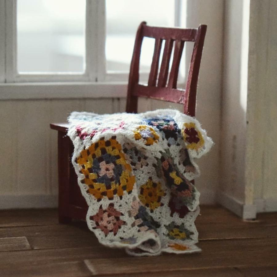 Финская художница создает дома мечты... в миниатюре, фото № 24