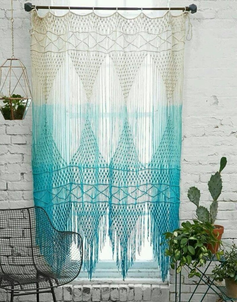 Tangled Story: 35 Ideas of Macrame in Interior, фото № 21