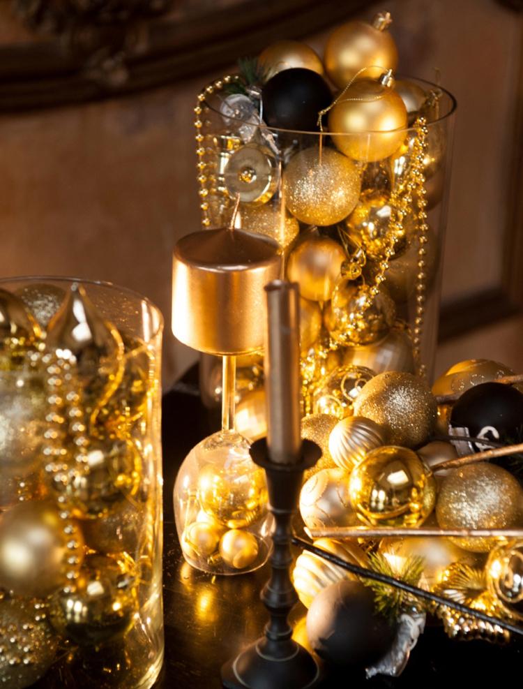 Золотой новогодний декор: 15 классных идей, фото № 4