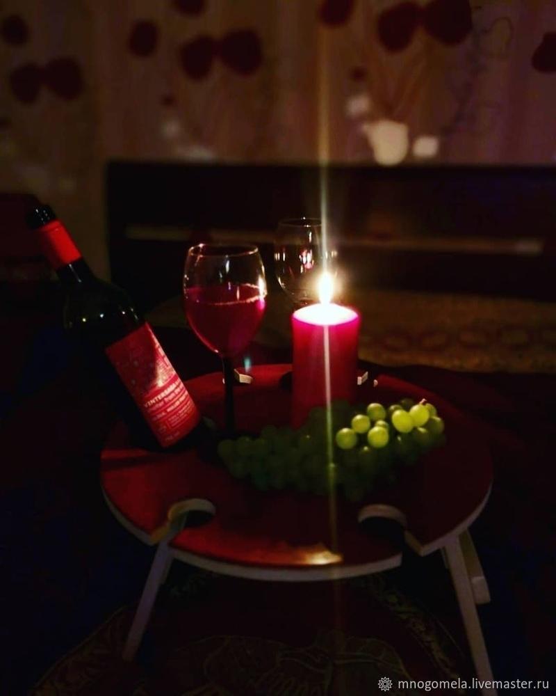 Обзор винных столиков от российских авторов-столяров, фото № 17