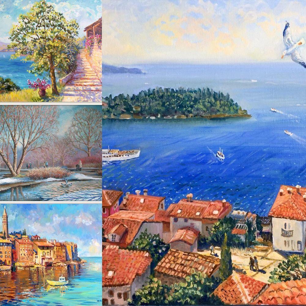 выставка, выставка живописи, картины наших современников