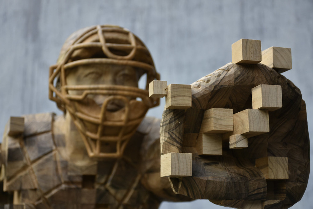 Striking Wooden Sculptures By Hsu Tung Han, фото № 11