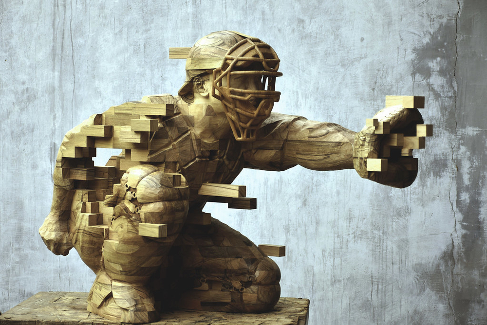Striking Wooden Sculptures By Hsu Tung Han, фото № 10