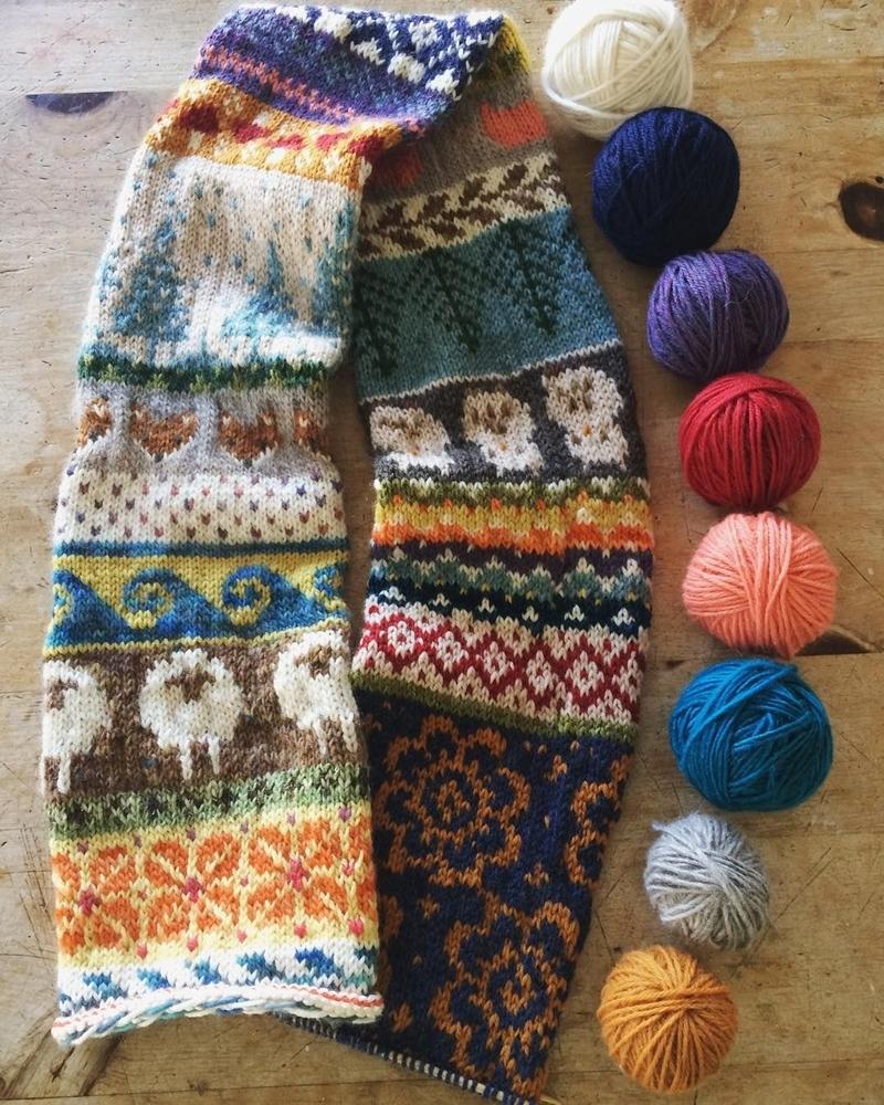 К зиме готовы! 50 идей вещей для вязания спицами, фото № 35