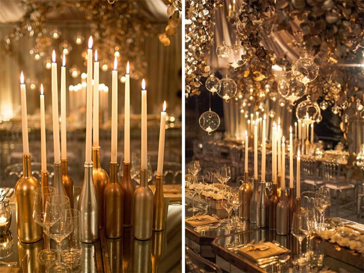 Золотой новогодний декор: 15 классных идей, фото № 21