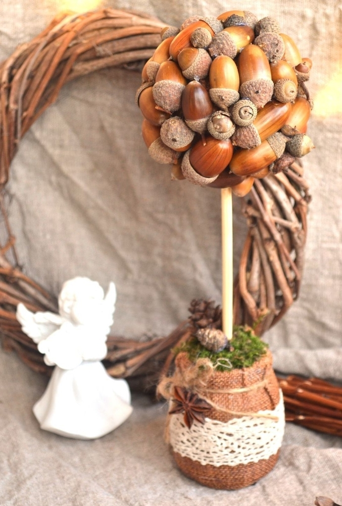 22 Autumn Ideas For Creative Use Of Acorns, фото № 21