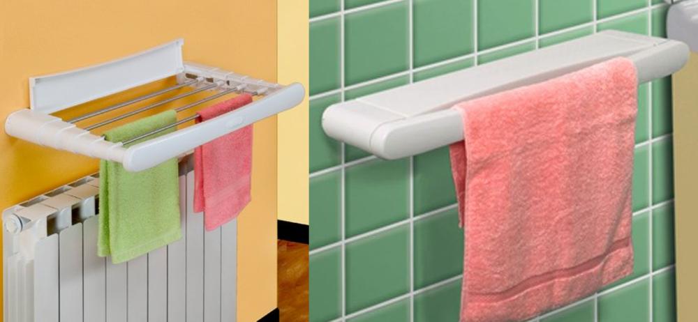 Где сушить белье в квартире красиво и удобно? (33 обычных и необычных решений), фото № 11