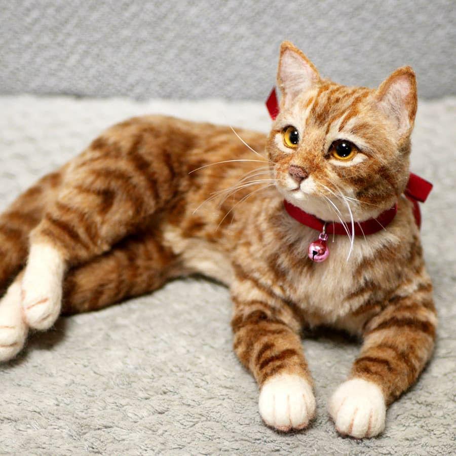 Котики спасут мир! 25 валяных питомцев, на которых невозможно смотреть без умиления