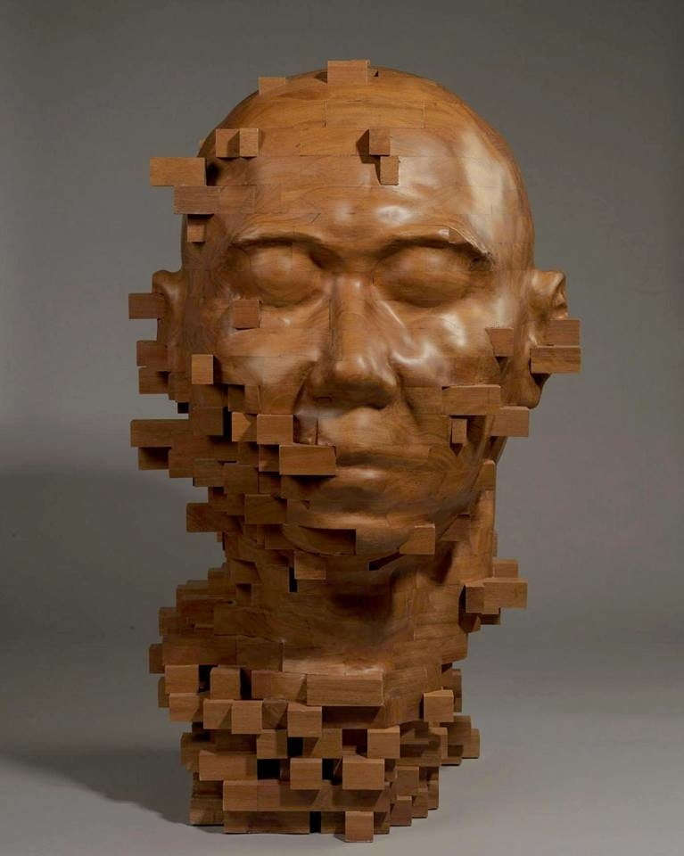 Striking Wooden Sculptures By Hsu Tung Han, фото № 20