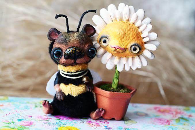 Alien Invasion Of Cuteness: 25+ Unusual Creatures By Anna Nazarenko, фото № 14