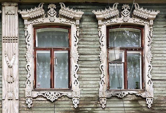 Оконные наличники как символ защиты в русском зодчестве, фото № 6