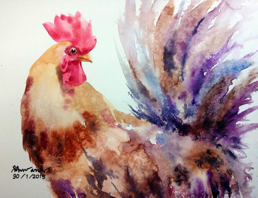 Watercolour Virtuoso: Kitipong Ti, фото № 34