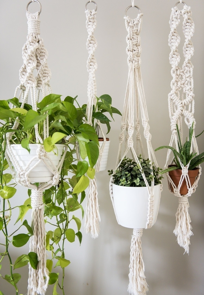 Tangled Story: 35 Ideas of Macrame in Interior, фото № 32