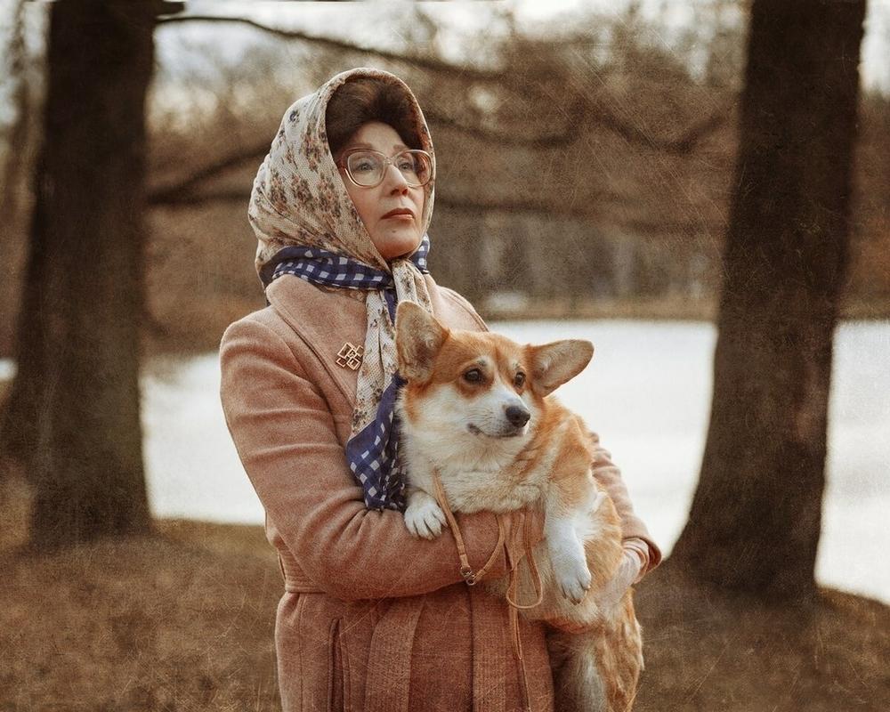 10 ярких образов смелой пенсионерки из Петербурга: зачем пожилая модель постоянно перевоплощается, фото № 9