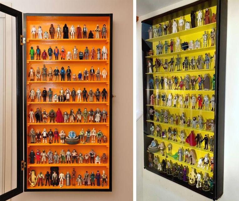 Коллекционируем красиво: 40+ впечатляющих полок для хранения коллекций, фото № 41