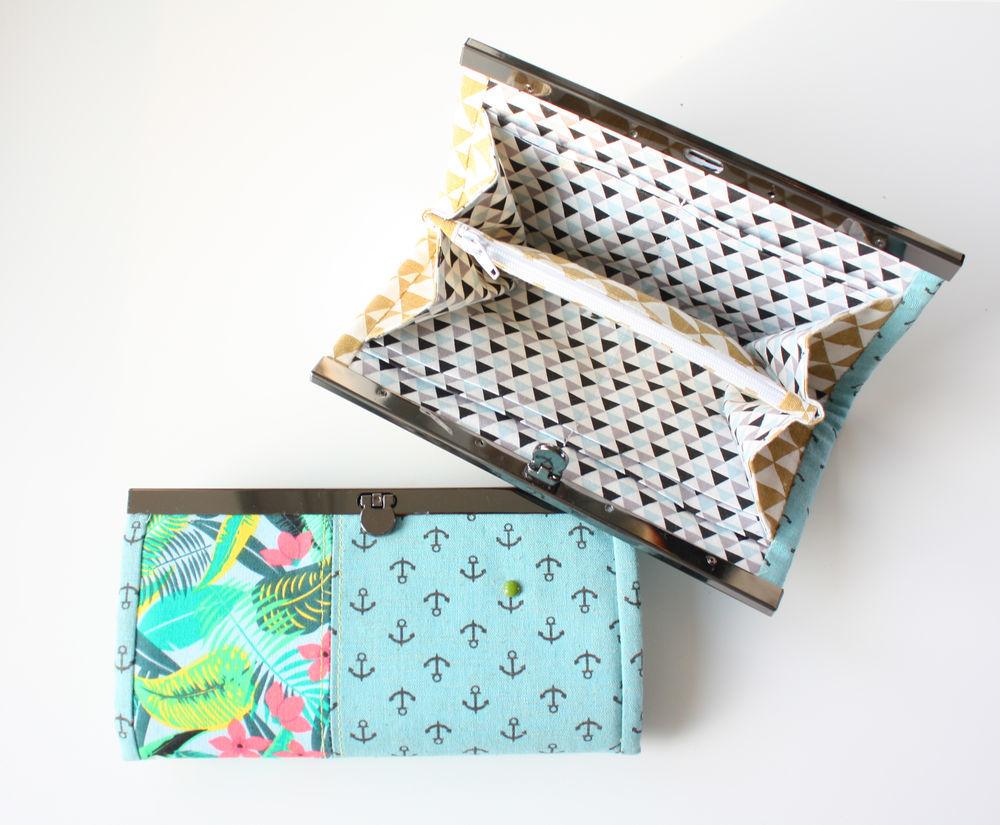 simple wallet, holiday handbag, purse tutorial