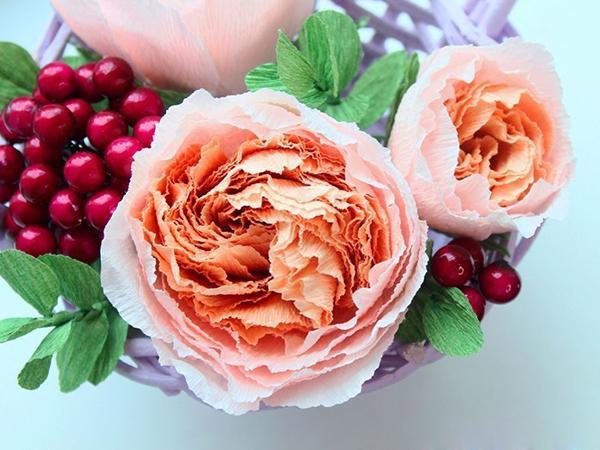 Как сделать цветы из бумаги 16 мастер-классов по созданию неувядающей красоты своими руками, фото № 30