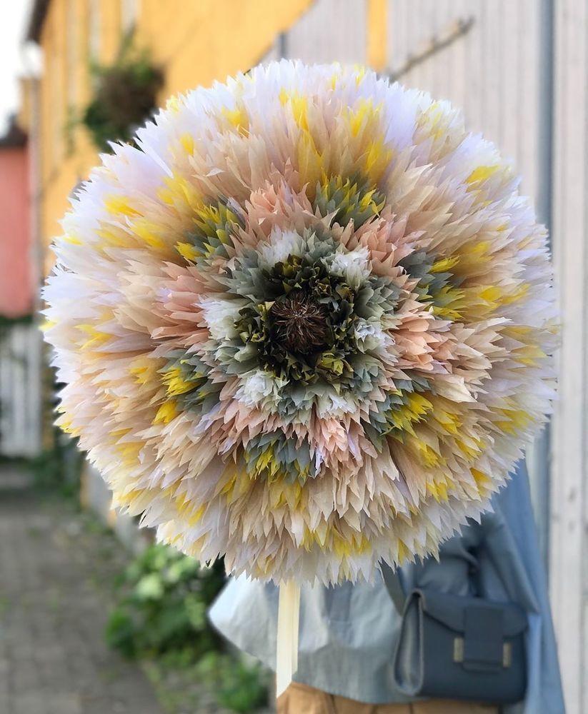 Потрясающие бумажные цветы датской художницы arianne riksen-cott ansen, фото № 24