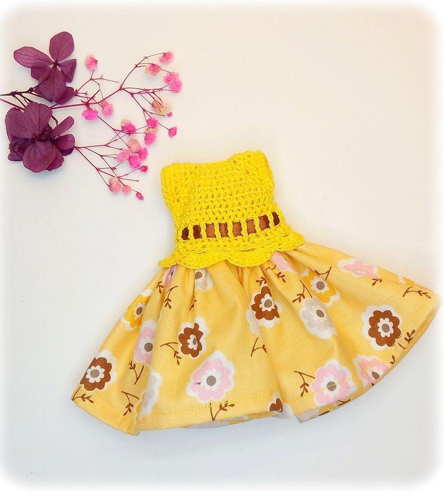 Создаем простое комбинированное платье на куколку, фото № 4