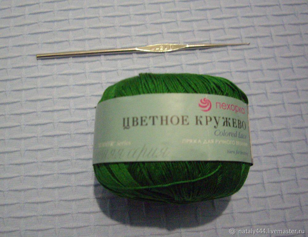 Вяжем цветок для ирландского кружева, фото № 2
