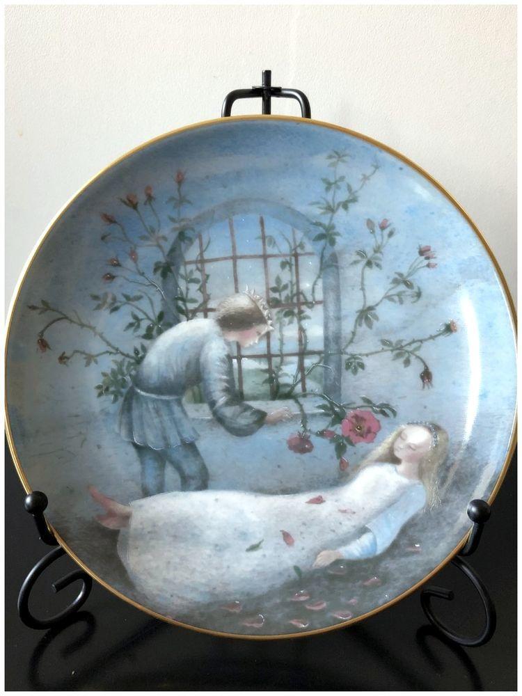 настенные тарелки, топелиус, сказки в интерьере, спящая красавица, декор детской
