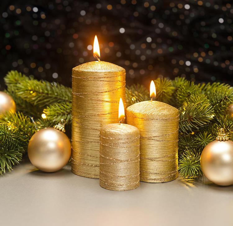 Золотой новогодний декор: 15 классных идей, фото № 23