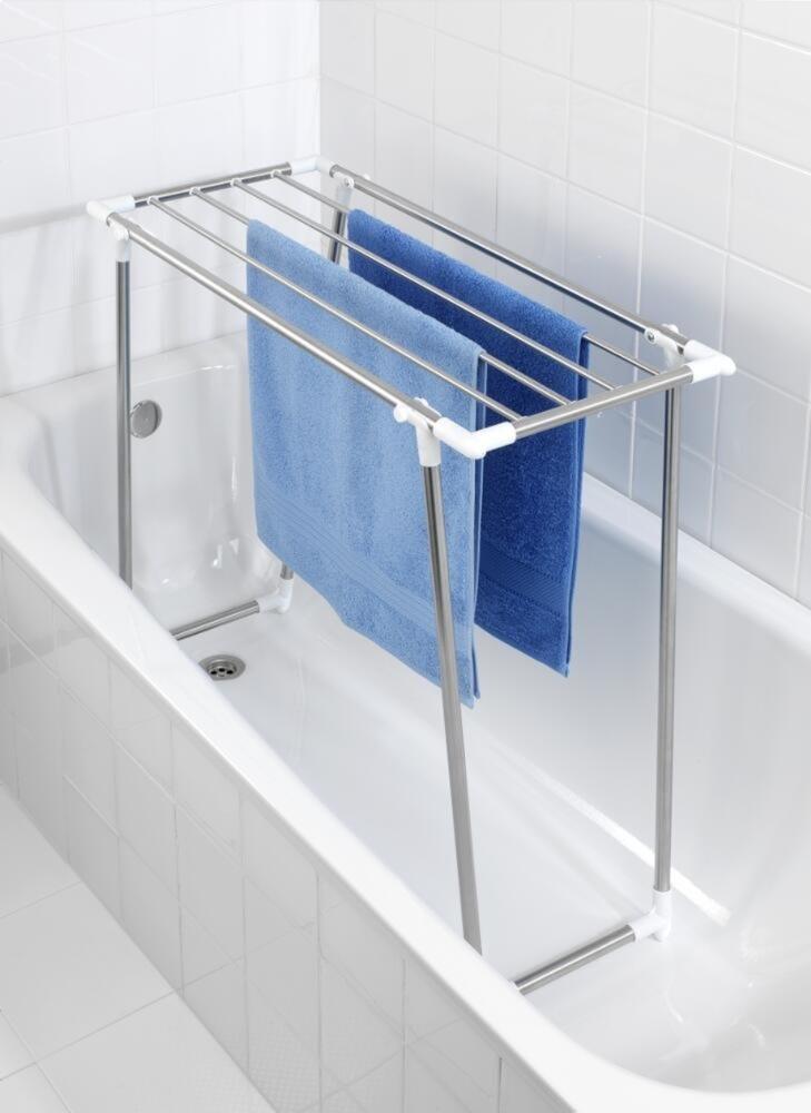 Где сушить белье в квартире красиво и удобно? (33 обычных и необычных решений), фото № 6