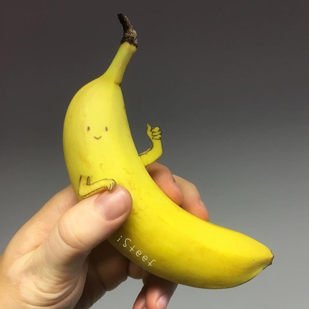 Повелитель бананов Стивен Брюче меняет наше привычное представление об этом фрукте в своём творчестве!, фото № 7