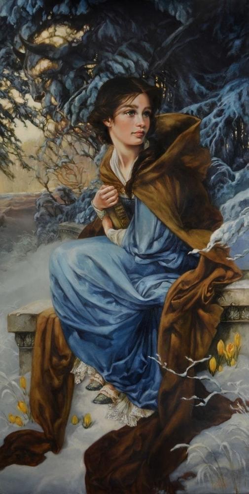Художница нарисовала диснеевских принцесс в духе эпохи Возрождения. Что из это получилось? Смотрите и удивляйтесь, фото № 10